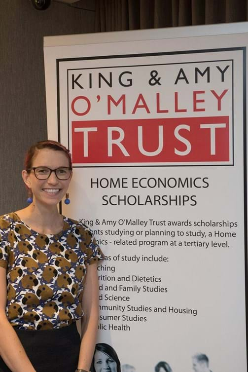 Brittany Johnson - King & Amy O'Malley Scholarship Awardee